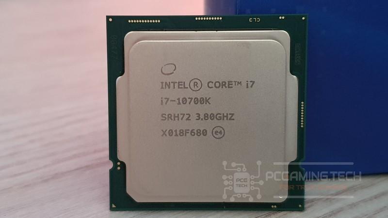 Intel i7-10700K front