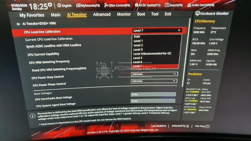 intel i7 10700k overclock 05