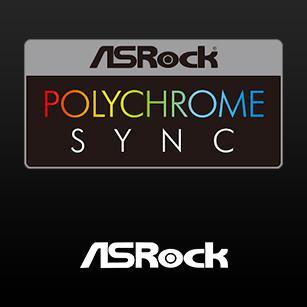 Logo Asrock Polychrome Sync