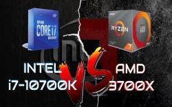 Intel i7-10700K VS AMD Ryzen 7 3700X