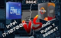 Intel i7-10700K VS AMD Ryzen 7 3800XT
