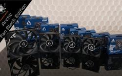 Ventole Arctic F Fan Black Edition - Recensione