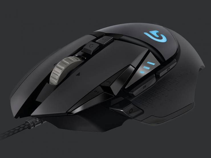 Logitech gaming mouse G502 Proteus sprectrum