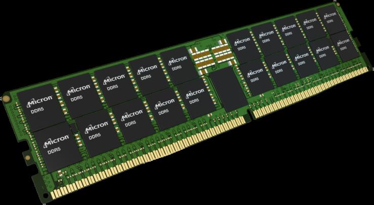 micron ddr5 banco di memoria