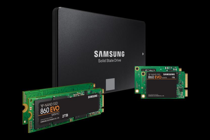 Best SSD Sata Samsung 860 SATA 3, Nvme, mSATA