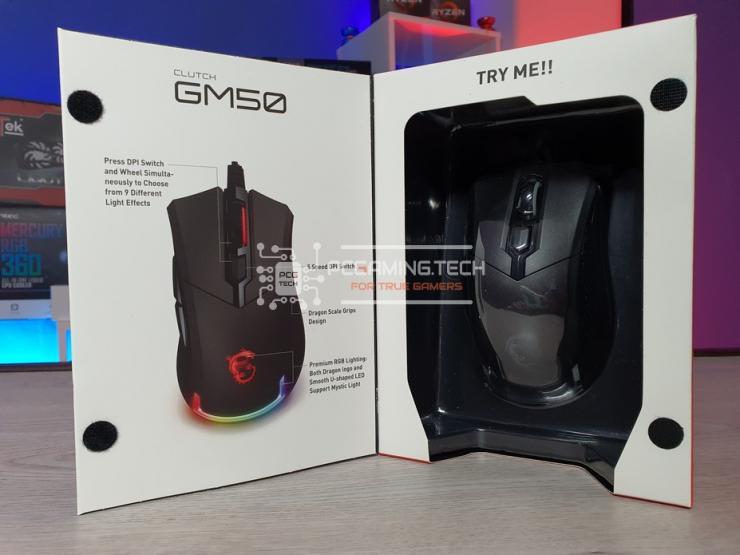 finestra confezione MSI Clutch GM50
