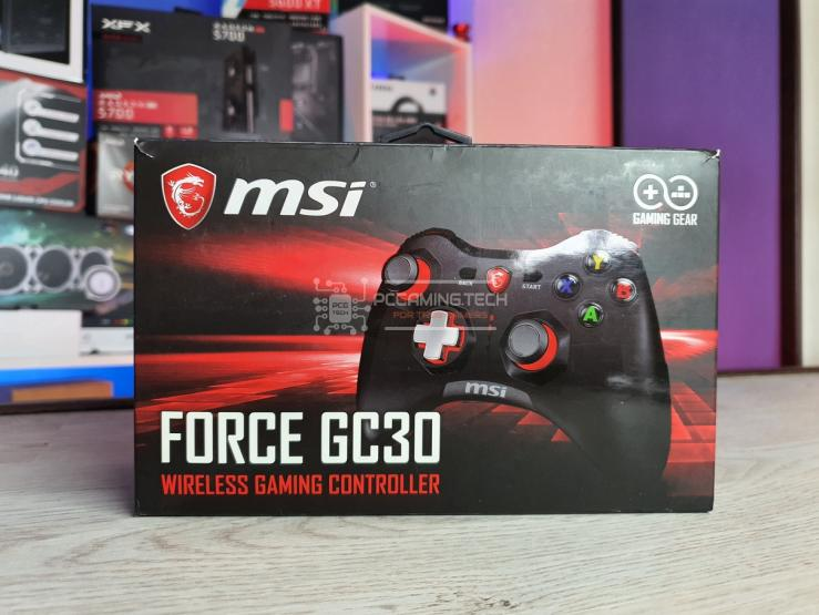 MSI Force GC30 scatola frontale