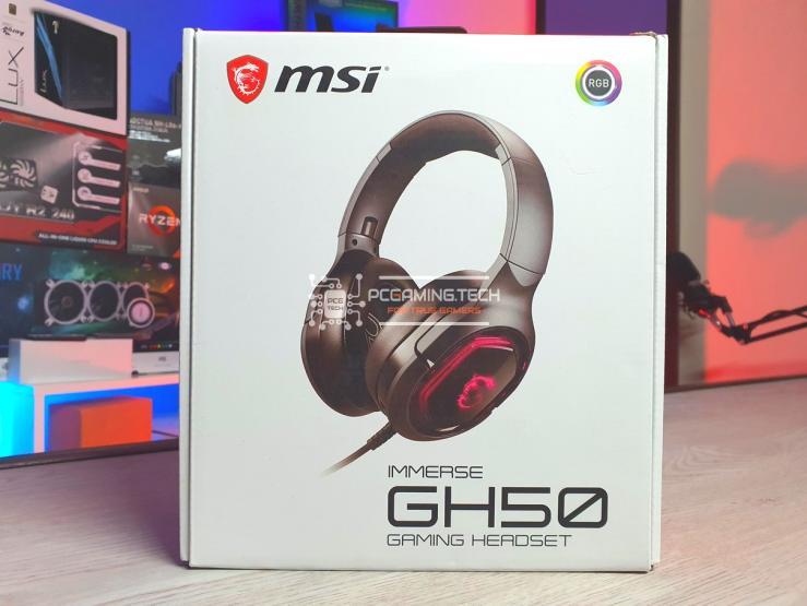 Confezione  box MSI Immerse GH50 front
