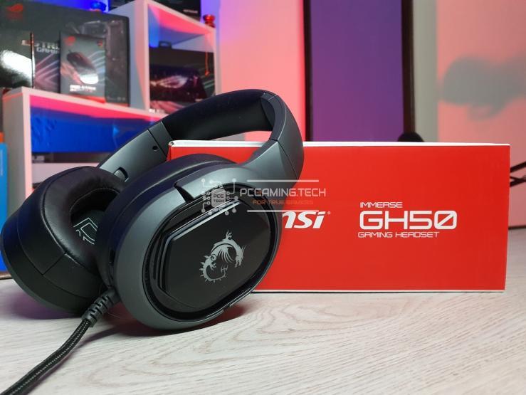 Panoramica MSI Immerse GH50 con confezione