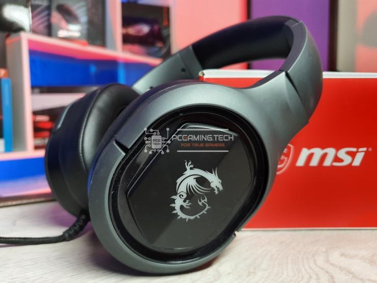 Padiglioni MSI Immerse GH50 con logo illuminabile