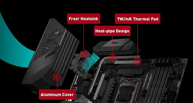 msi outstandin thermal solution