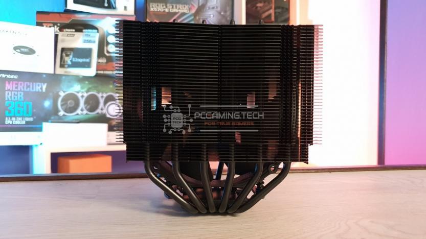 Noctua NH-D15 visuale heatsink alette