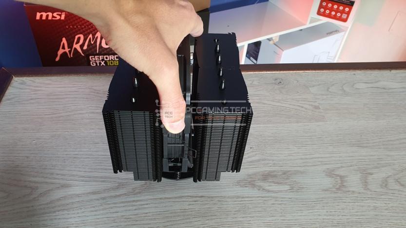 Noctua NH-D15 central fan removal