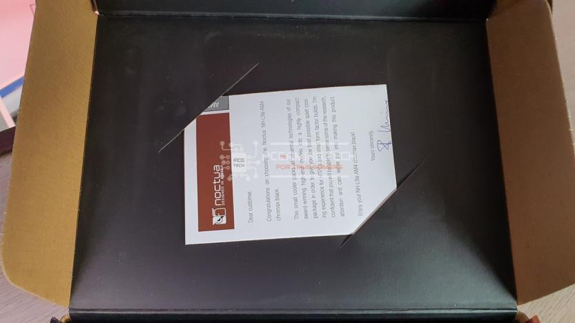 Noctua NH-L9a-AM4 chromax black alloggiamento manuale di installazione rapida