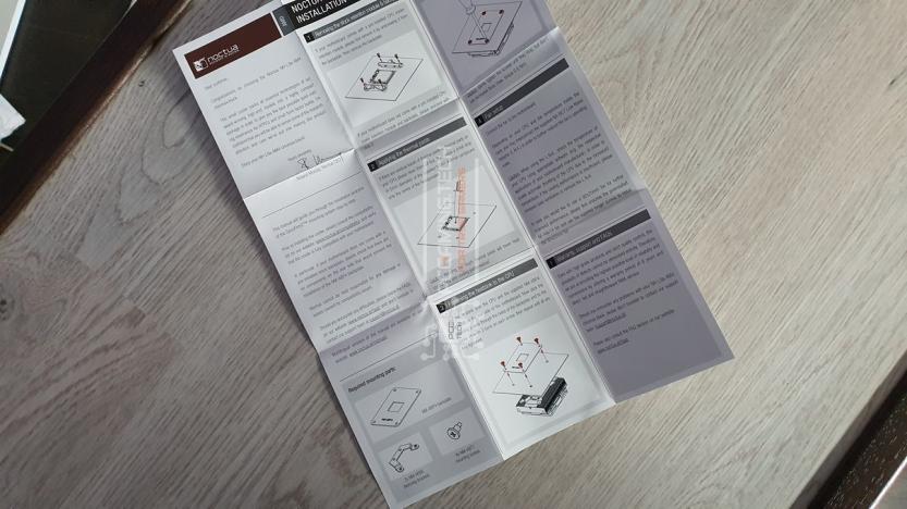 Noctua NH-L9a-AM4 chromax black manuale di installazione rapida
