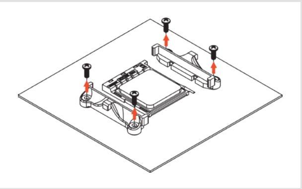 Noctua NH-L9a-AM4 chromax black installazione fase 1