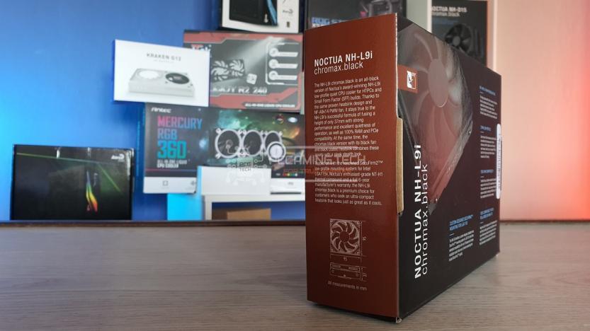 Noctua NH-L9i recensione lato left box