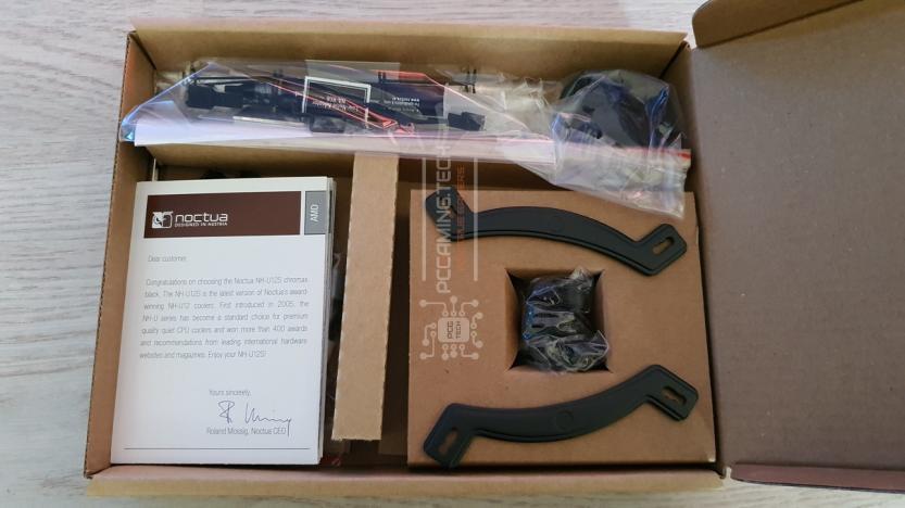 Noctua NH-U12S chromax.black accessori