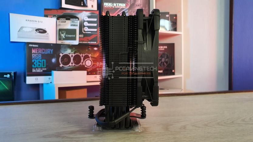 Noctua NH-U12S chromax.black heatsink side