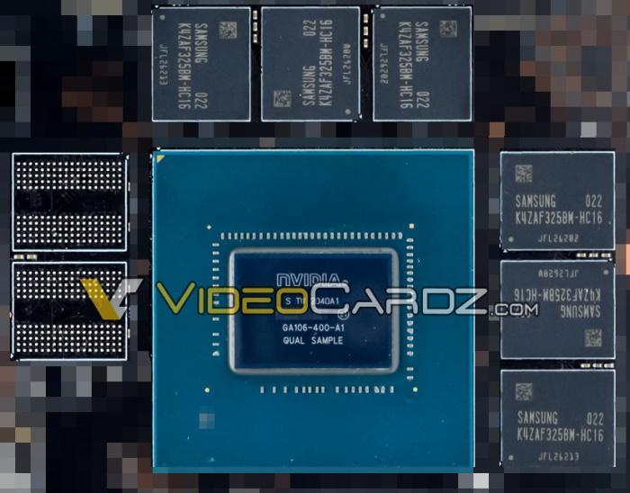 nvidia ga106 ampere rtx 3060