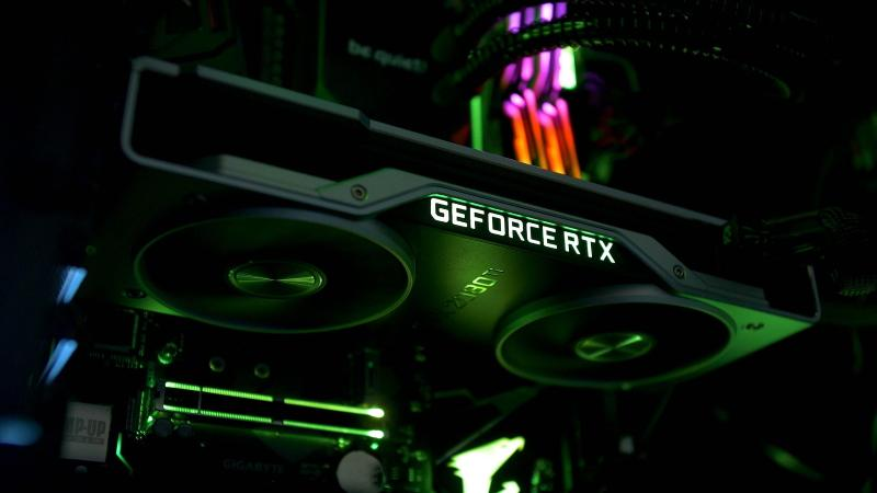 Immagine scheda video Nvidia Geforce RTX
