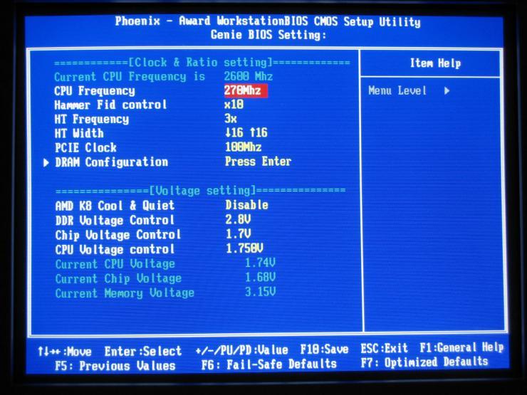 old amd athlon64 overclock