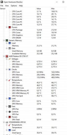 open hardware monitor 2