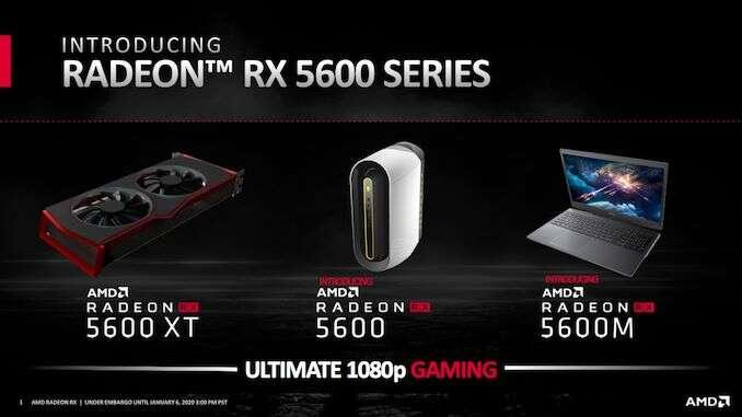 AMD Radeon RX 5600 e Radeon RX 5600 XT: differenze tecniche