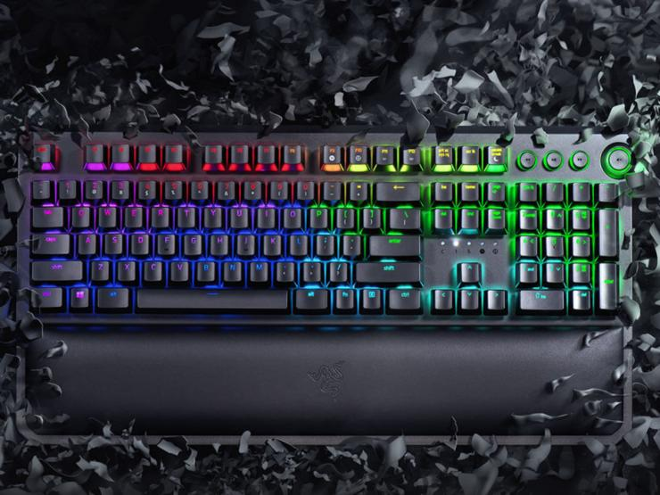 Razer Blackwidow Elite gaming keyboard fortnite