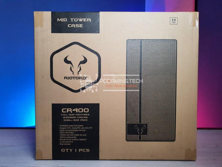 scatola Riotoro CR400 frontale