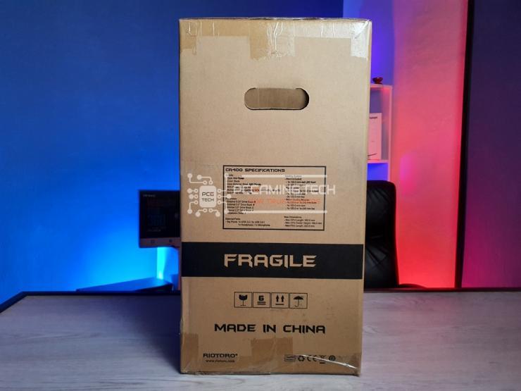 scatola Riotoro CR400 laterale