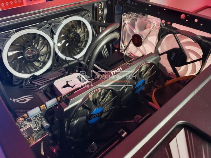Riotoro CR400 kit liquido vga e ventole frontali