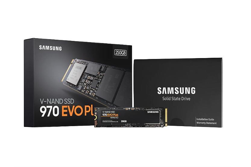 SAMSUNG M.2 SSD PCIe NVMe 970 EVO PLUS