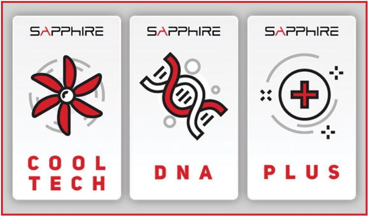 Sapphire Pulse RX 5600 XT feature cool dna plus