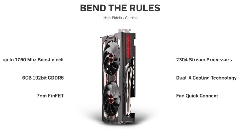 Sapphire Pulse RX 5600 XT features