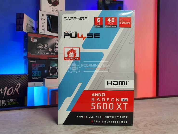 Sapphire Pulse RX 5600 XT box front