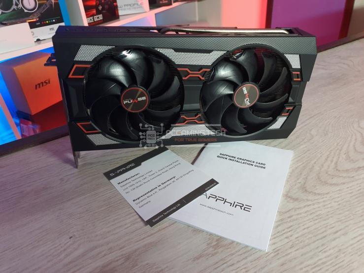 Sapphire Pulse RX 5600 XT contenuto della confezione