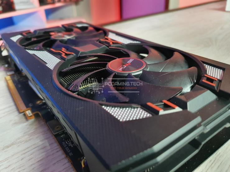 Sapphire Pulse RX 5600 XT dettaglio ventole
