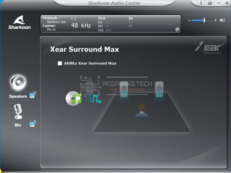 sharkoon skiller sgh30 sharkoon audio center recensione 007
