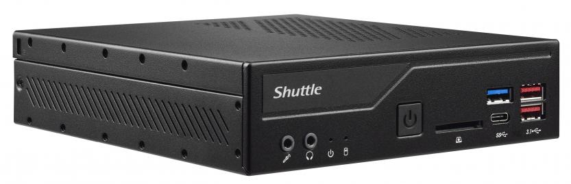 shuttle xpc barebone dh470 frontal view