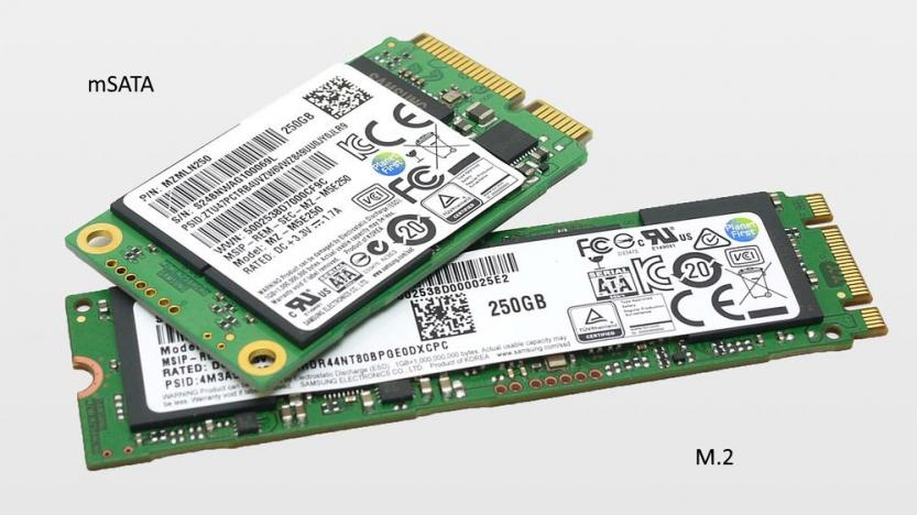 differenza tra SSD mSATA vs SSD M.2