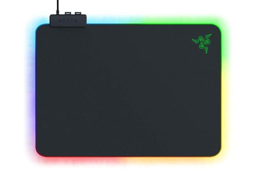 tappettino mouse gaming RAZER FIREFLY V2 RGB LED RIGIDO