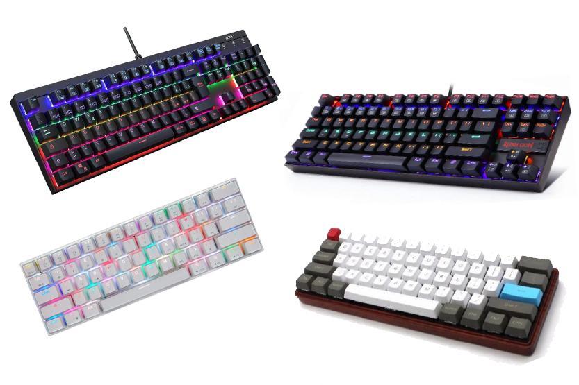 differenti form factor tastiera meccanica