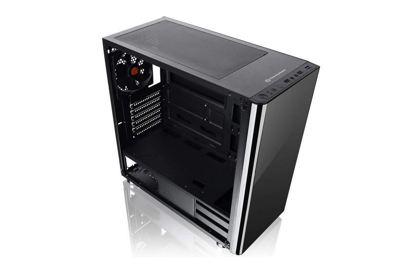 thermaltake v200 case mid atx vetro temperato